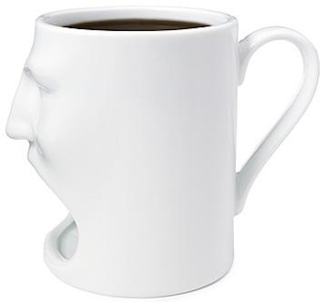 Face Mug w Cookie Cubbie 1 - O copo perfeito para quem quer tomar café com cookies
