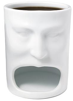 Face Mug w Cookie Cubbie 2 - O copo perfeito para quem quer tomar café com cookies