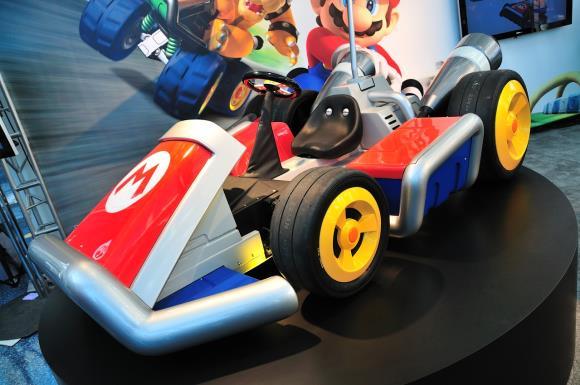 580mario kart13 - Nintendo apresenta karts oficiais do Mario Kart