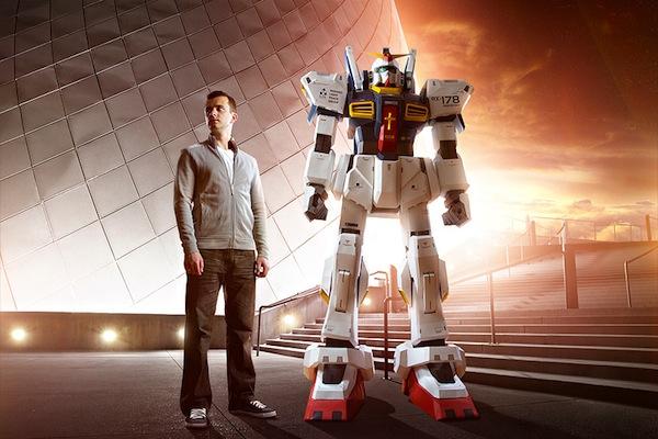 fantasy2 - Vídeo: Construa um robô Gundam de papel. Veja o processo aqui