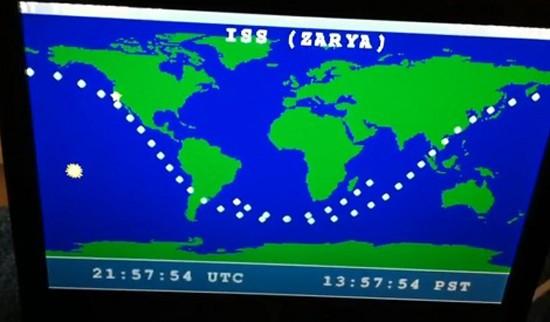 iss arduino3 - Vídeo: Fã do Arduino constrói um sistema de rastreamento de satélites
