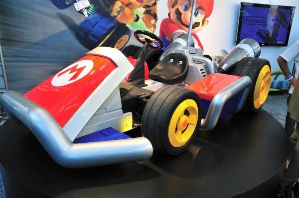 mario kart00 - Nintendo apresenta karts oficiais do Mario Kart