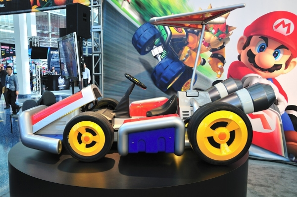 mario kart14 - Nintendo apresenta karts oficiais do Mario Kart