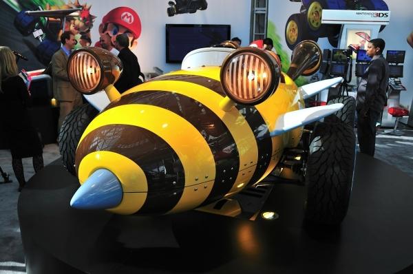 mario kart26 - Nintendo apresenta karts oficiais do Mario Kart