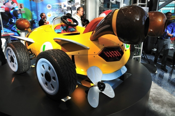 mario kart29 - Nintendo apresenta karts oficiais do Mario Kart
