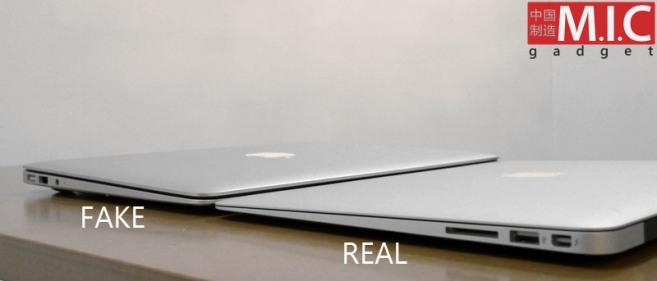 macbook air airbook knock off - Vídeo: AirBook, o primo chinês do MacBook Air, que nunca foi reeconhecido pela Apple