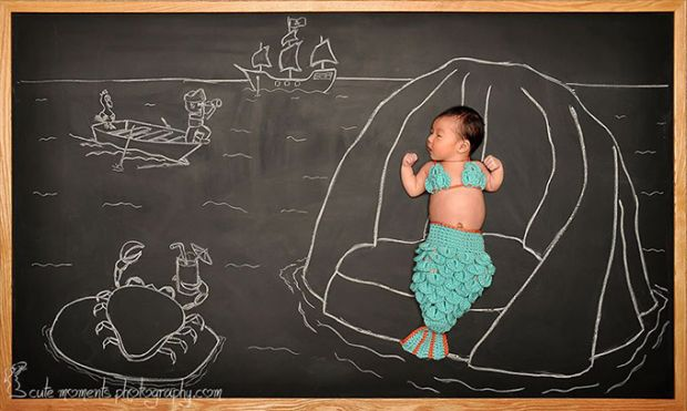A-Baby-s-Blackboard-Adventures
