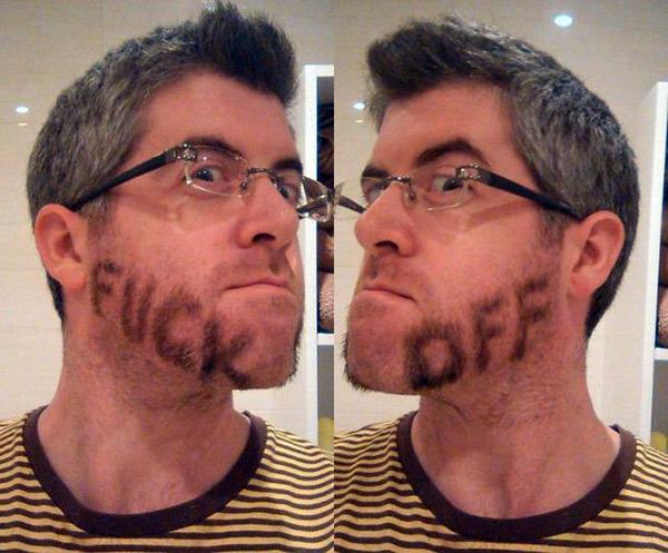Fuck-off-beard