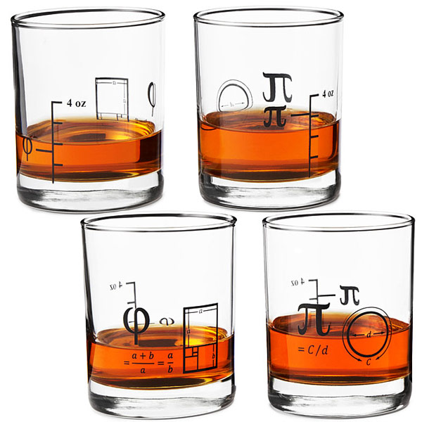 Math-Wiskey-Glasses