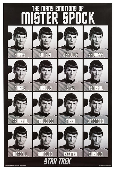 Star-Trek-Emotions-of-Spock-Poster