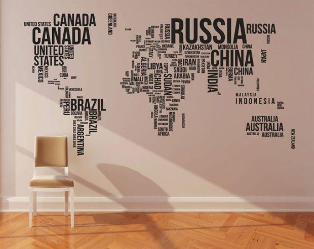 World-map-art-wallpaper