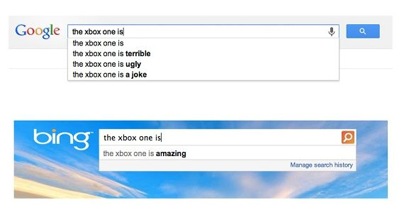 google-bing-xbox-one
