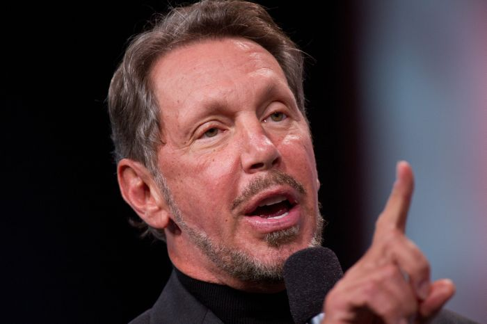 Oracle CEO Larry Ellison Oracle OpenWorld 2011 Keynote