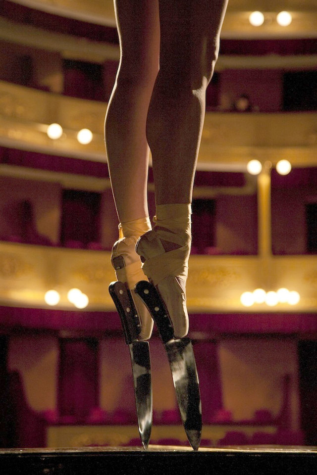 ballerina-in-knife-shoes