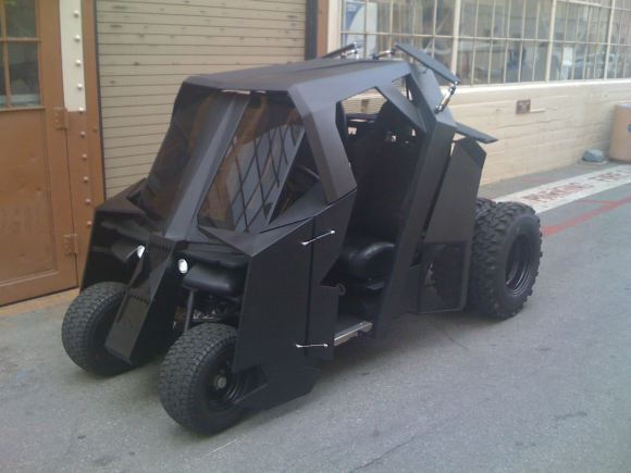 batman-golf-cart