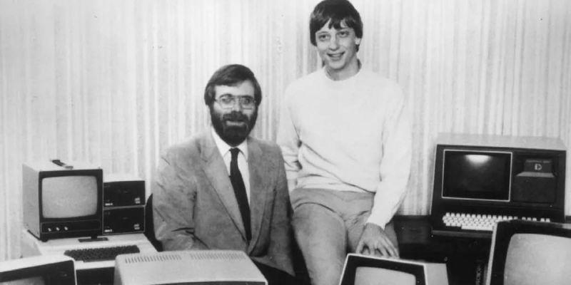 paul allen and bill gates - Bill Gates emociona a internet ao homenagear Paul Allen